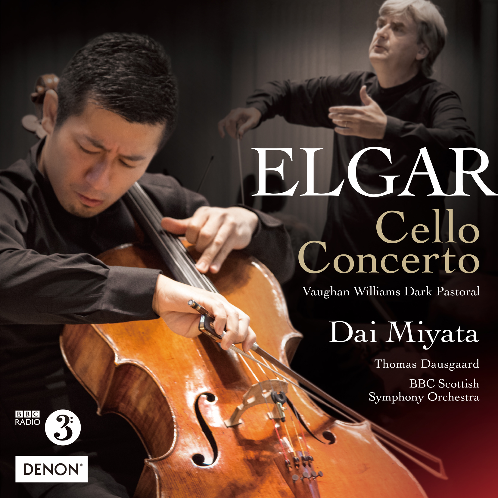 ELGAR:CelloConcerto /  Vaughan Williams:Dark Pastoral